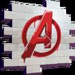 Fortnite Avengers-Logo Spraymotiv