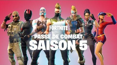 PASSE DE COMBAT SAISON 5 DISPONIBLE MAINTENANT