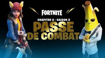 Fortnite Chapitre 2 - Saison 2 Présentation du Passe de combat