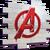 Logo des Avengers