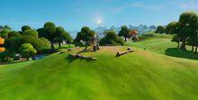 Timber Tent - Landmark - Fortnite