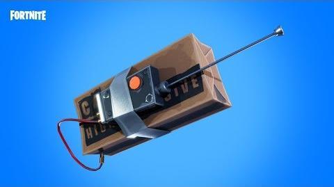 Les explosifs télécommandés débarquent sur Fortnite Battle Royale