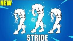 FORTNITE STRIDE EMOTE (1 HOUR)