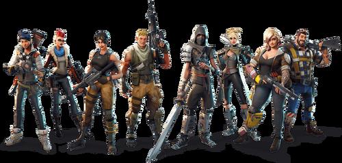 Fortnite class characters