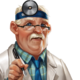 Médecin masculin