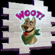 Woot Bonesy - Spray - Fortnite
