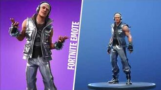 STERLING ADAMANTIN (Skin Fortnite) FORTNITE EMOTE
