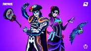 Fortnite Muertos Set Promo 2