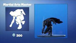 Maître Martial - Emote