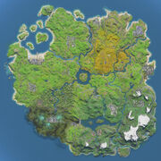 Chapter 2 season 1 map - fortnite