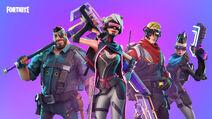 Fortnite Cyberpunk-Helden