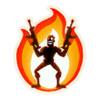 On Fire - Emoticon - Fortnite