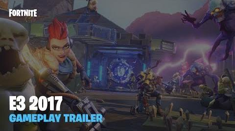 Fortnite - E3 2017 Gameplay Trailer
