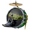 Kick Drum - Back Bling - Fortnite