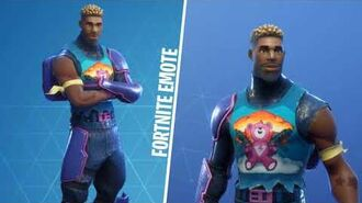 MITRAILLEUR FLUO (Outfit Fortnite)