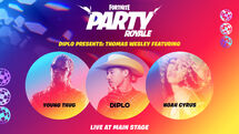 Diplo Presents- Thomas Wesley - Live Event - Fortnite
