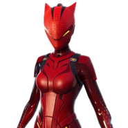 Lynx Couleur Rouge