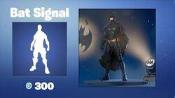 Bat Signal - Emote