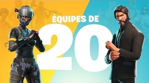 Équipes de 20