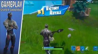 *GAMEPLAY* OMEGA SKIN SNIPER SHOOTOUT (GamePlay Fortnite)