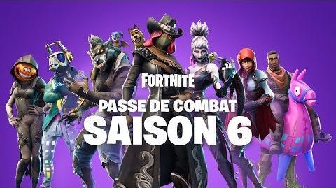 Fortnite - Passe de combat saison 6 - Nouveauté les compagnons !