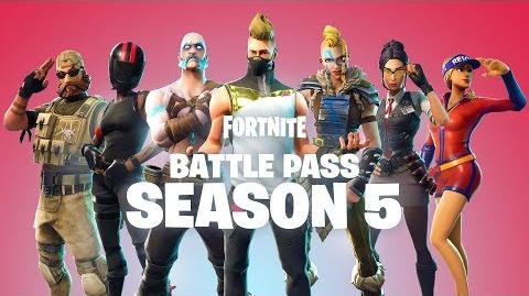 BATTLE PASS SEASON 5 AVAILABLE NOW