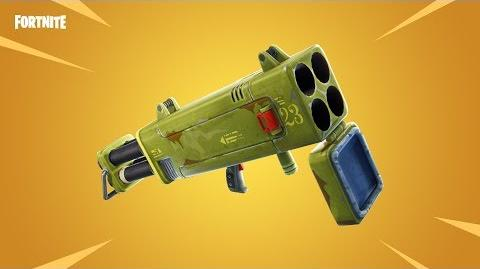 NEW WEAPON Quadlauncher