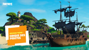 Préfabriqué bateau pirate
