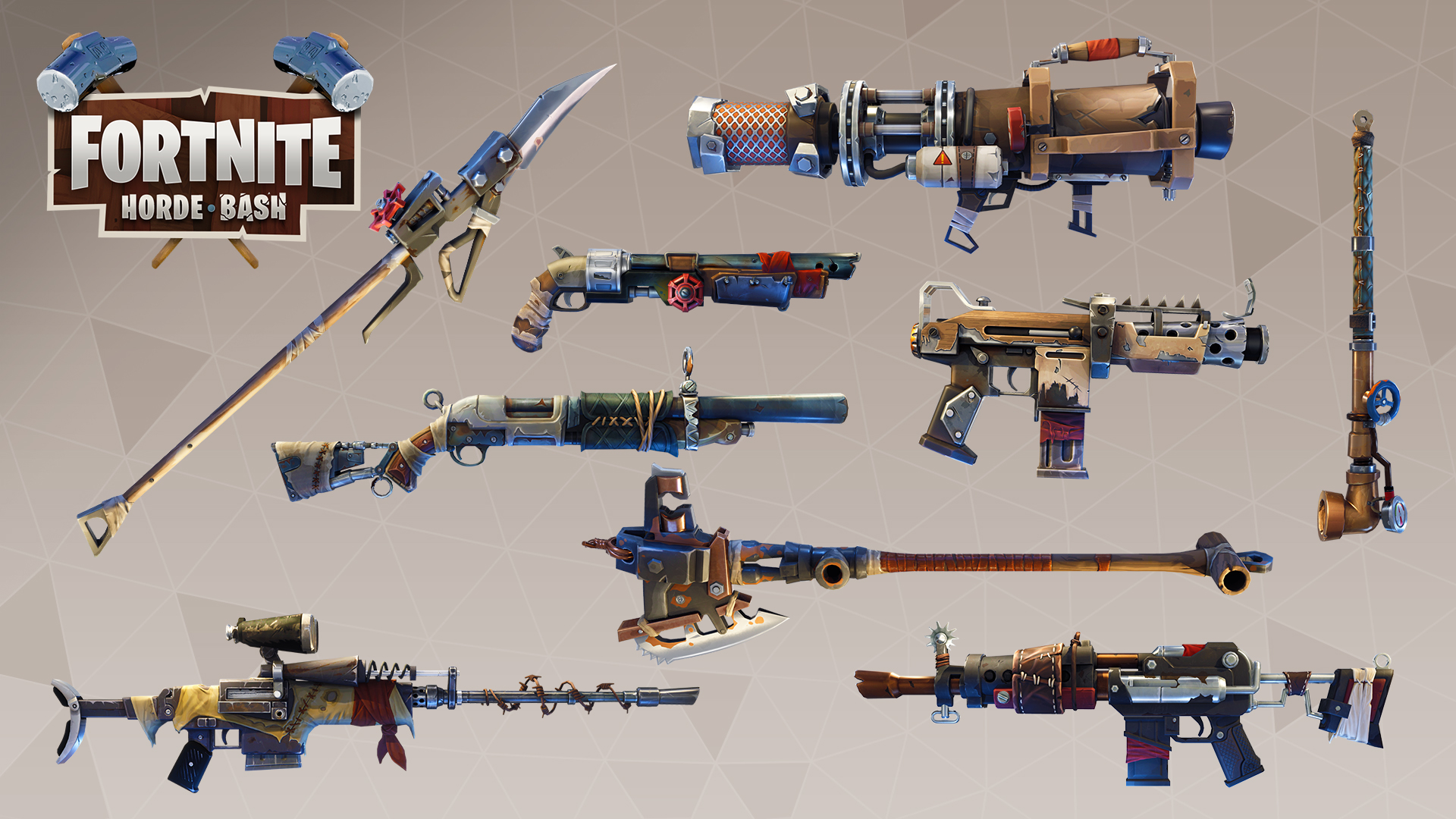 Image Scavenger Weapon Set Jpg Fortnite Wiki Fandom Powered By