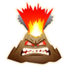 Angry Volcano - Emoticon - Fortnite