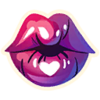 Kiss - Emoticon - Fortnite