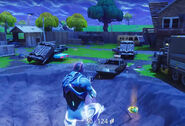 Risky Reels ground - Fortnite