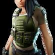 Maya la Spécialiste (Accessoire Veste Militaire)