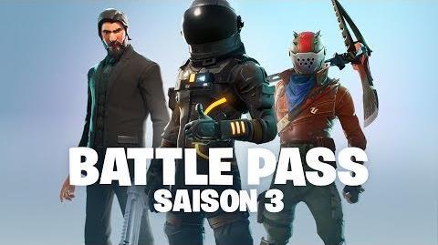 Fortnite - Saison 3 Battle Pass