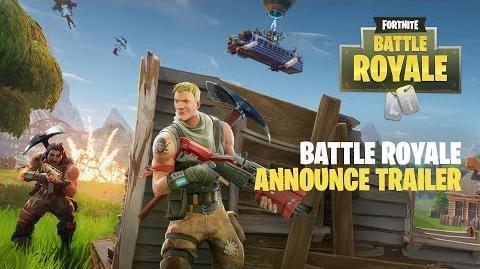 Fortnite Battle Royale - Announce Trailer