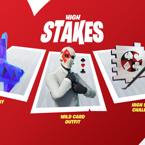Wild Card outfit, Suited Up spray, Crowbar pickaxe