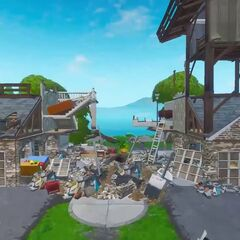Snobby Shores' North house destroyed.