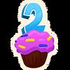 Birthday Cupcake - Emoticon - Fortnite
