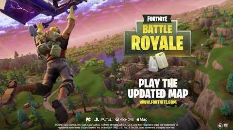 Fortnite Battle Royale - Map Update!
