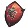 Red Shield - Back Bling - Fortnite