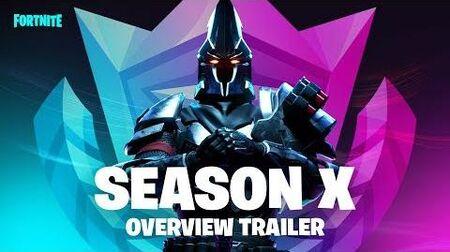 Fortnite - Season X Trailer