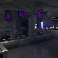 The control center floor