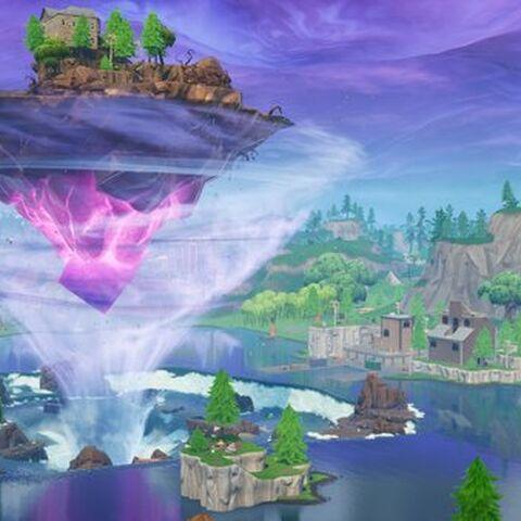 fortnite leaky lake floating island jpg - leaky lake fortnite