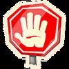 Stop - Emoticon - Fortnite