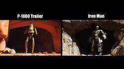 Fortnite-Comparaison (B-1000 & Iron Man)