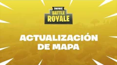 Fortnite Battle Royale Actualización del mapa