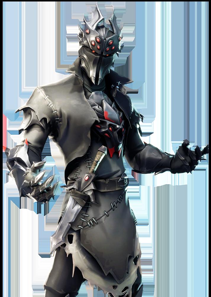 chevalier araignee - fond decran fortnite skin chevalier noir
