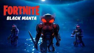 Black Manta Has Arrived Fortnite