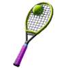Used Racket - Back Bling - Fortnite