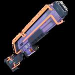 Fusil à pompe à hélium